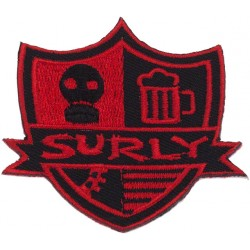 Surly Stripes Patch 2.5""