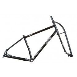 "Jones Plus 24"" Steel Diamond Steel Frameset"