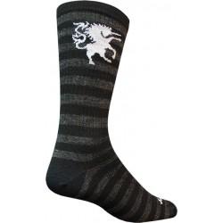 SockGuy Wool Medieval Unicorn 8 Crew Sock