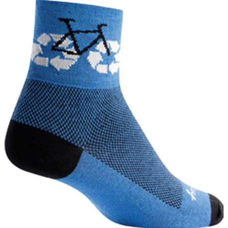 SockGuy Recycle Bike Sock