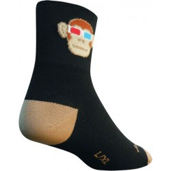 SockGuy Monkey See 3D Sock