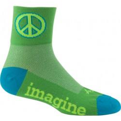 SockGuy Classics Green Peace Sock