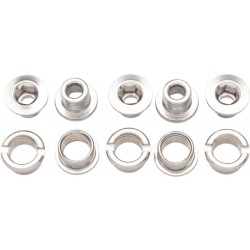 Problem Solvers Single Chainring Bolts Steel
