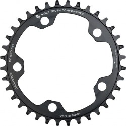 Wolf Tooth Drop-Stop Chainring 110bcd