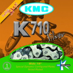 "KMC ketting K710 1/8""  extra strong, plated"