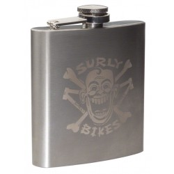 Surly Hip Flask Stainless