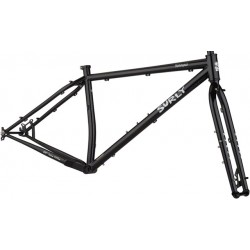 Surly Krampus Frameset - Dark Black