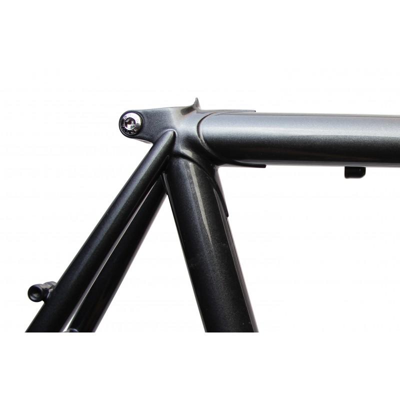 Soma 2017 Stanyan Frame & Fork Set -- Anthracite - JustPedal.nl