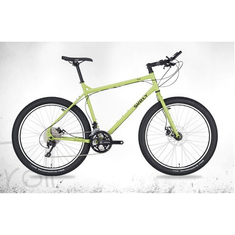 Surly Troll Frameset Pea Lime Pie Soup Justpedal Nl