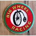 Big Wheel Racing Patch 8cm