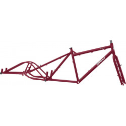 Surly Big Dummy Frameset Dark Side of the Maroon
