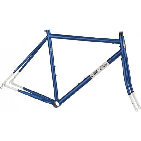 All-City Mr. Pink ZONA Frame Blue/White