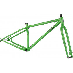 Surly Ice Cream Truck Frameset - Plutonium Sparkle Green