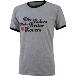 All-City Bike Riders Make Better Lovers T-Shirt: Gray SM