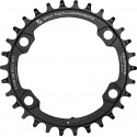 Wolf Tooth Components Drop-Stop Chainring 96 Asymmetrical BCD