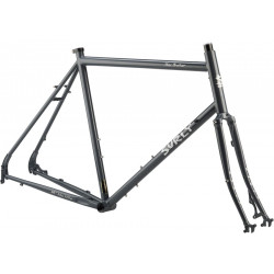 "Surly Disc Trucker Frameset 26"" Bituminous Gray"
