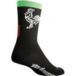 SockGuy SGX Sriracha Sock: Black SM/MD
