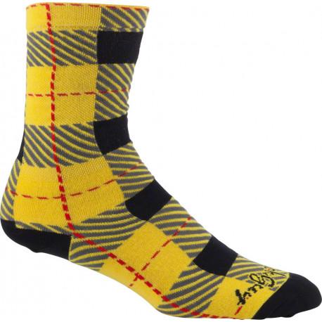 SockGuy Crew Tartan Tartan Sock