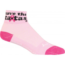 SockGuy Women's Save the Ta-Tas Sock