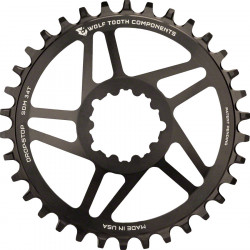 Wolf Tooth Components Direct Mount Drop-Stop Chainring- SRAM Cranks