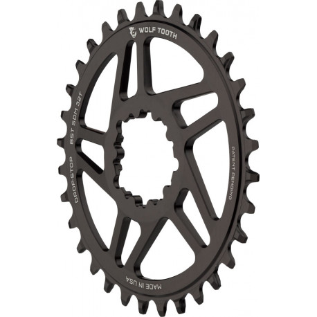 Wolf Tooth Components Direct Mount Drop-Stop Chainring- SRAM Boost