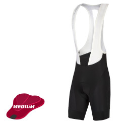 Edura Pro SL Bib Short II - Black - Medium Pad