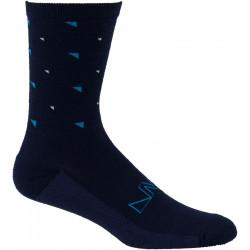 45NRTH Northern Midweight Crew Sock - Blue