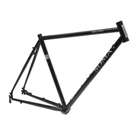 Soma 2017 Double Cross Disc FrameSet - Black