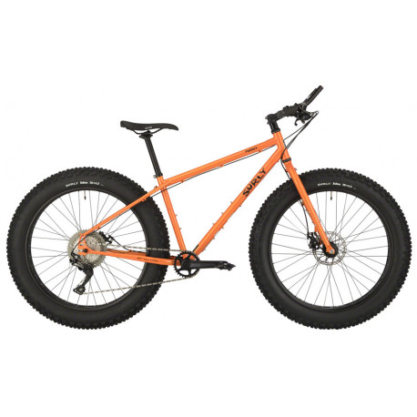 Surly Pugsley Complete Bike XS Candied Yam Orange