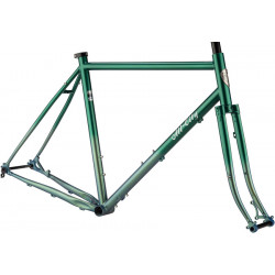 All-City Gorilla Monsoon Frameset Green Fade