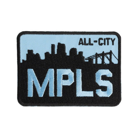 All-City MPLS Patch: Black/Blue