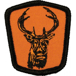 Surly Gasmask Deer Patch Small