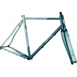 All-City Cosmic Stallion Frameset Blue/Green