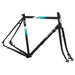 All City Space Horse Disc Frameset  -  Zwart