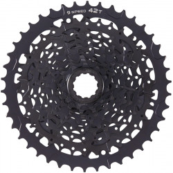 microSHIFT ADVENT Cassette - 9 Speed 11-42T Steel