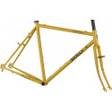 Surly Cross Check Frameset - Stoned Ground Mustard