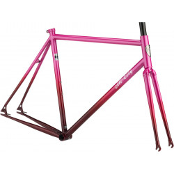 All-City Big Block Frameset Pink Fade