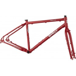 Surly Bridge Club Frameset - Grandma's Lipstick