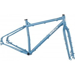 Surly Ogre Frameset - Cold Slate Blue