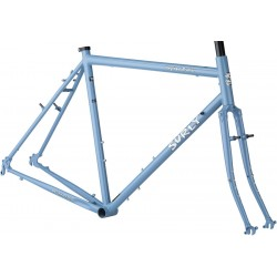 Surly Long Haul Trucker Framseset - 700C - Blue Suit of Leisure