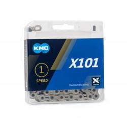 X 101 Zilver