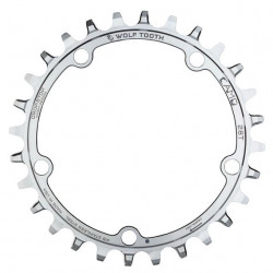 Wolf Tooth Camo Roestvrij Staal Ronde Chainring