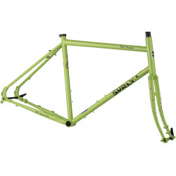 "Surly Disc Trucker Frameset 26"" Pea Lime Soup"