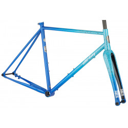 All City Super Nature Cross Single Speed Frameset - Propane Flame