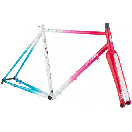 All City Super Nature Cross Frameset - Cyclone Popsicle