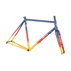 All-City Zig Zag Frameset - Sunset