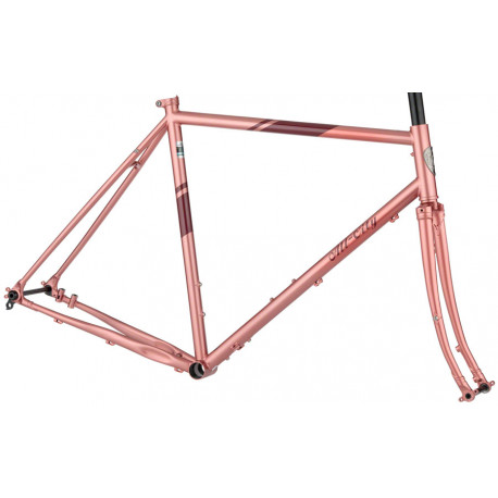 All City Space Horse Disc Frameset  - Dusty Rose