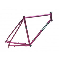 Soma Double Cross Disc FrameSet - Paars