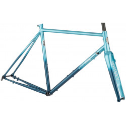 All-City Zig Zag Frameset - Miami Beach Aqua
