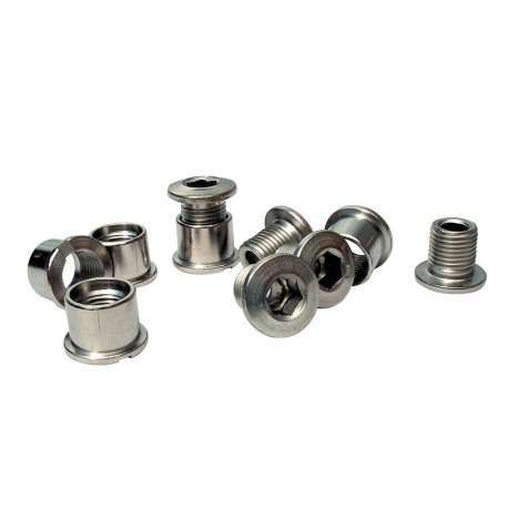JP Stainless Chainring Bolts Singlespeed